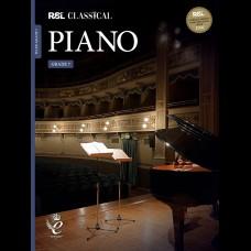 RSL CLASSICAL PIANO 2021 GRADE 7
