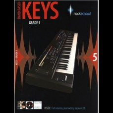 ROCKSCHOOL BAND BASED KEYS GRADE 5