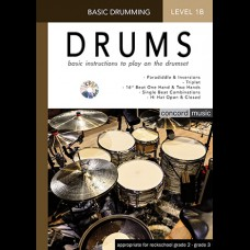 DRUMMING LESSON BOOK 1B