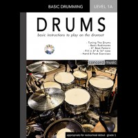 DRUMMING LESSON BOOK 1A